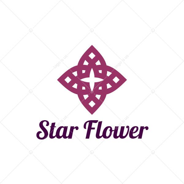 Star Flower Logo