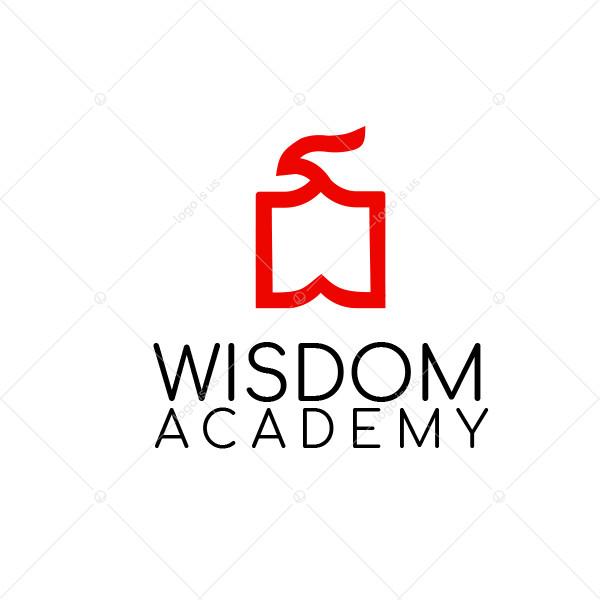 Wisdom Falcon Logo
