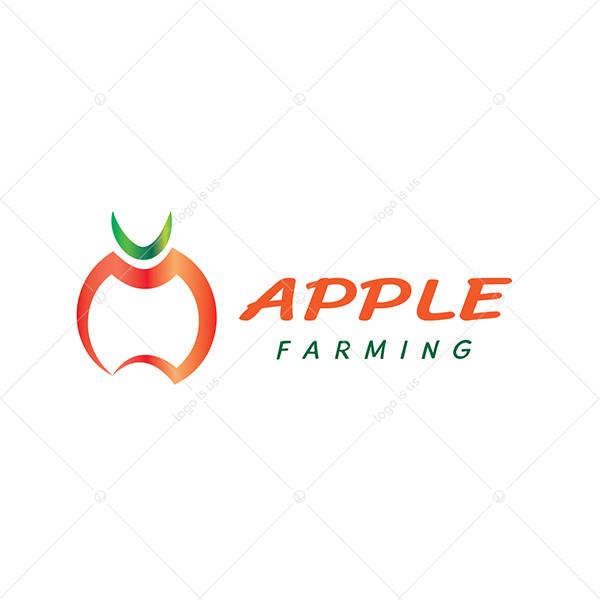 Apple Farming Logo