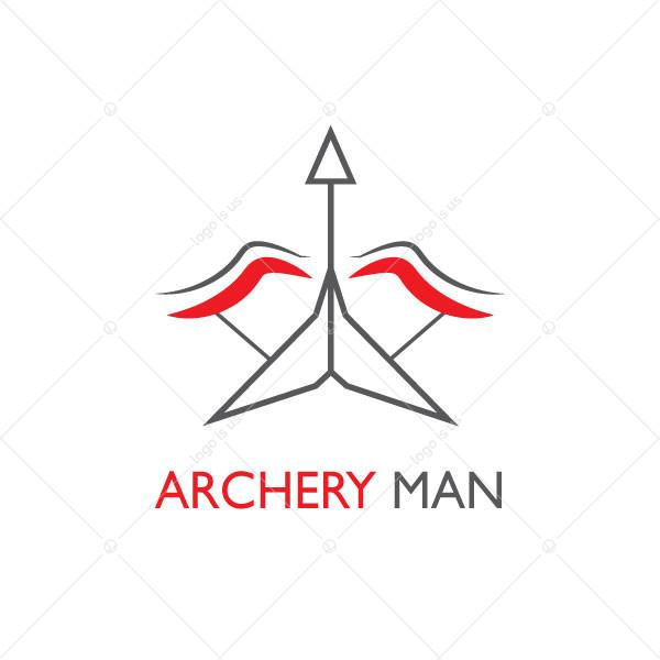 Archery Man Logo