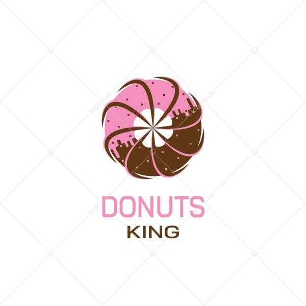 Donuts King Logo