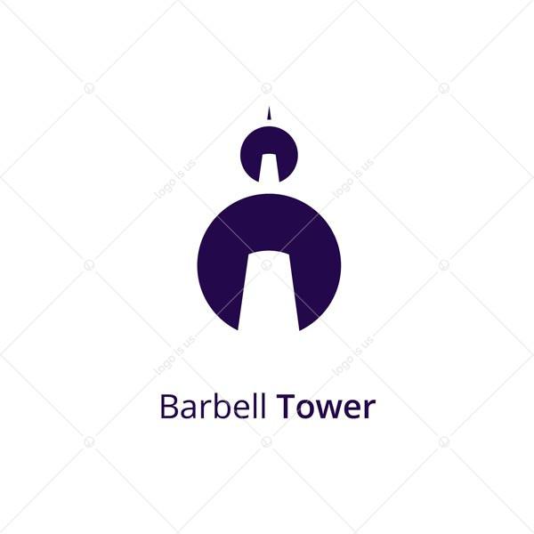 Barbell Tower Logo