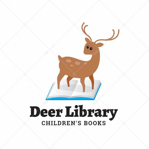 Deer Library Logo