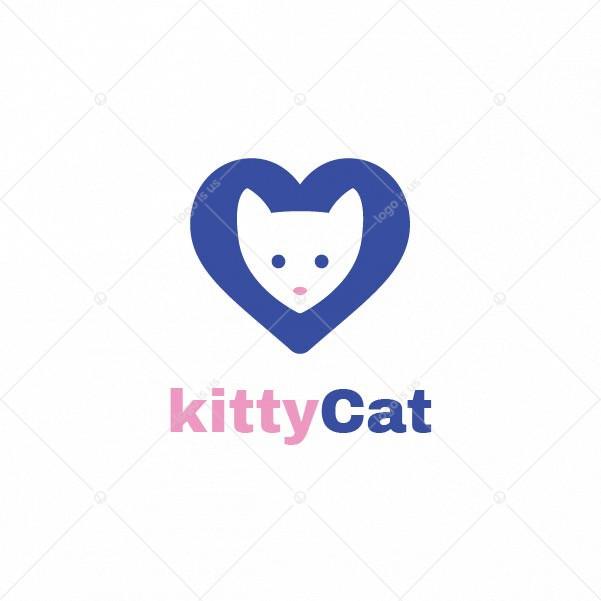 Kitty cat Logo
