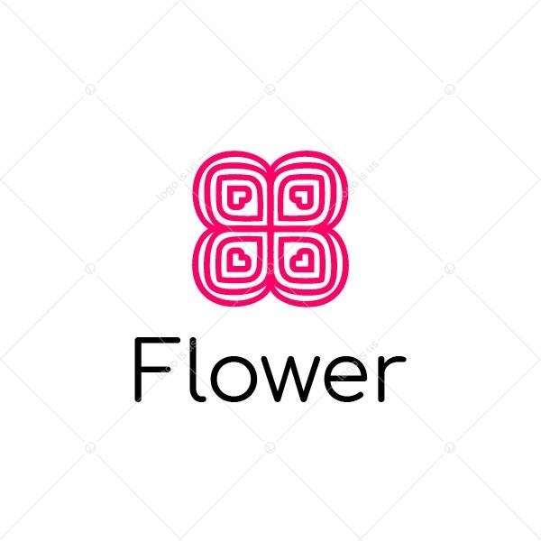 Flower Heart Logo
