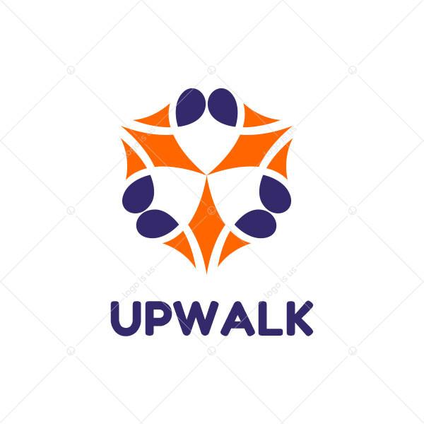 Upwalk Logo