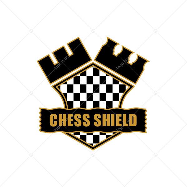 Chess Shield Logo