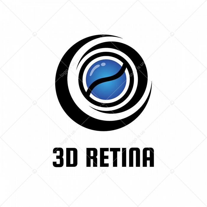 3D Retina Logo