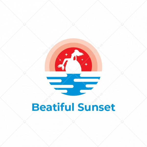 Beatiful Sunset Logo