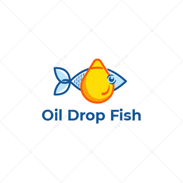 Oil Fish Logo