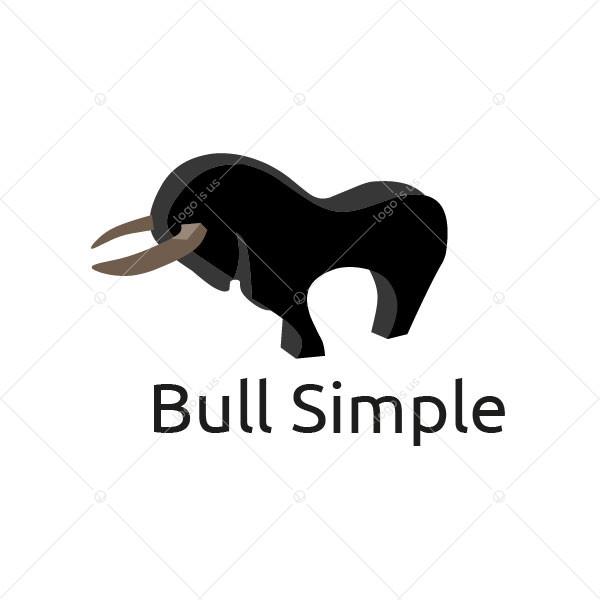Bull Simple Logo