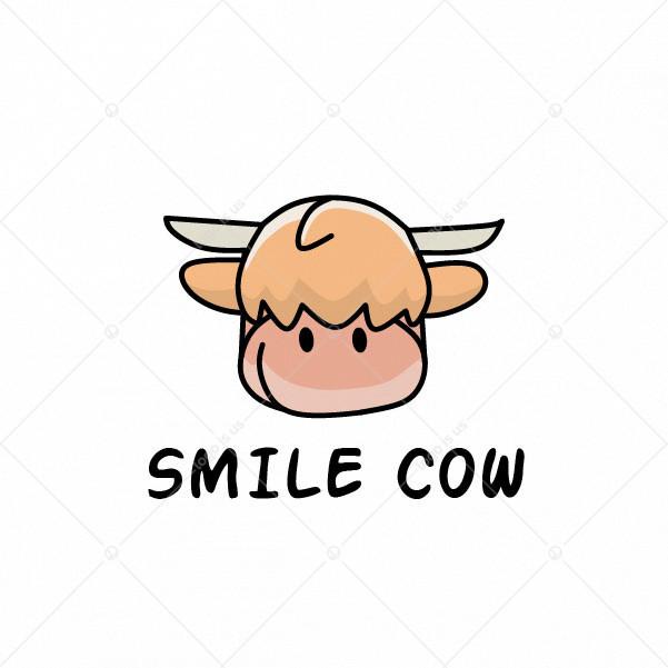 Smile Cow Logo