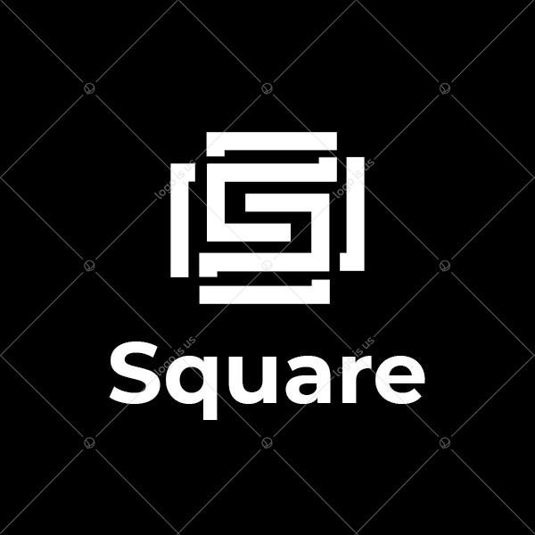 S Letter Square Logo