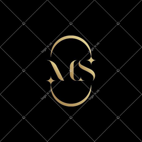 Ms Monogram Logo