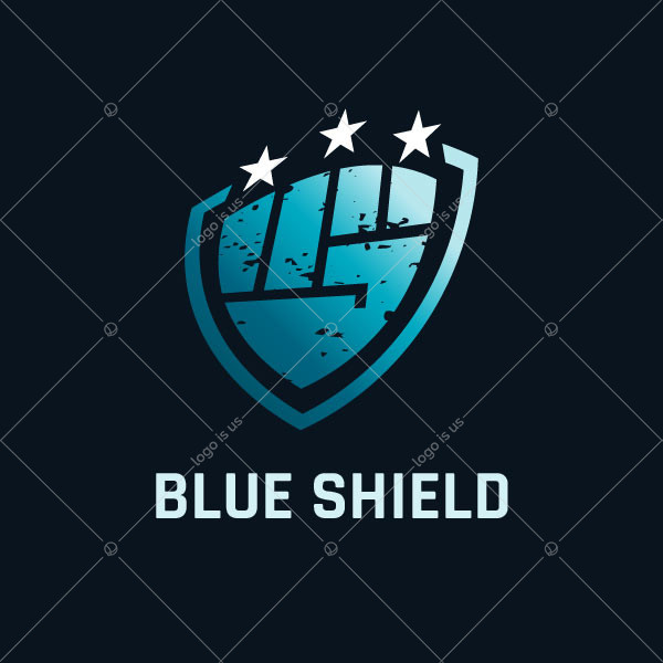 Fist Shield Security Logo