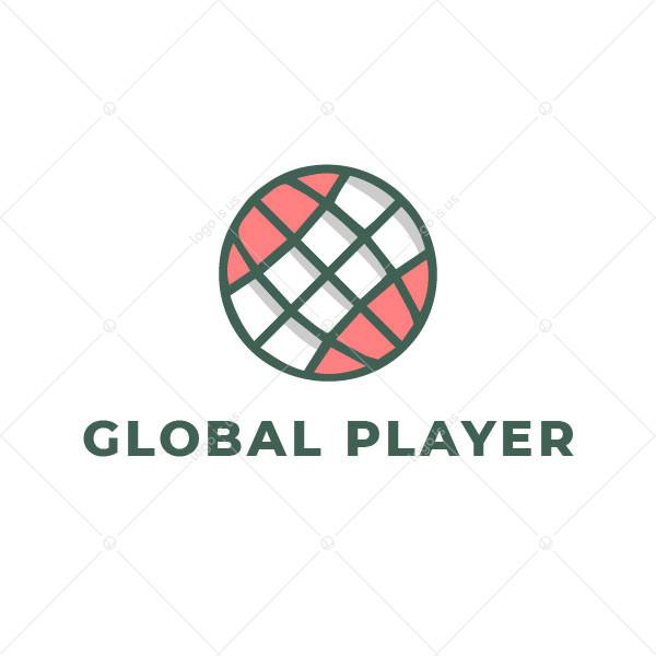 Globe Ball  Logo