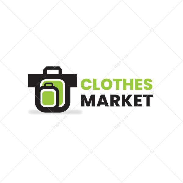 Cloths Market Logo