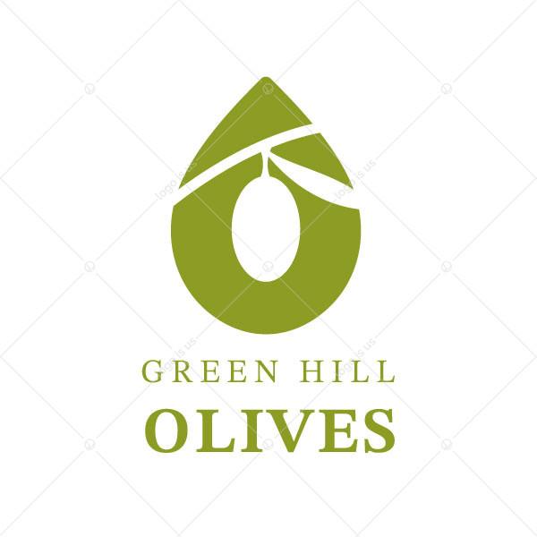 Green Hill Olive Logo