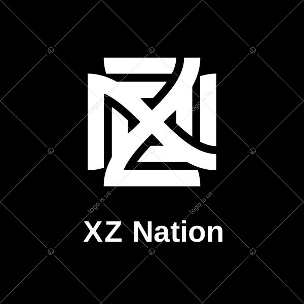 Modern Nz Letter Logo