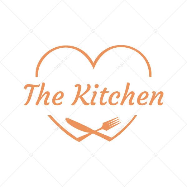 I Love  Food  Logo