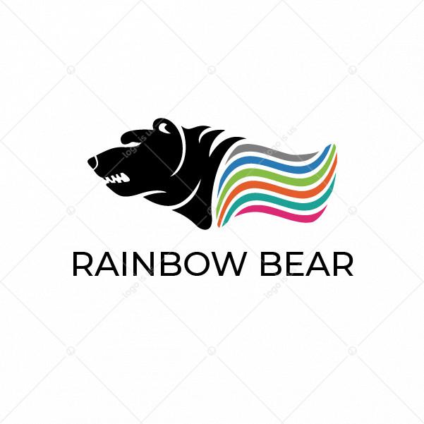 Rainbow Bear Logo