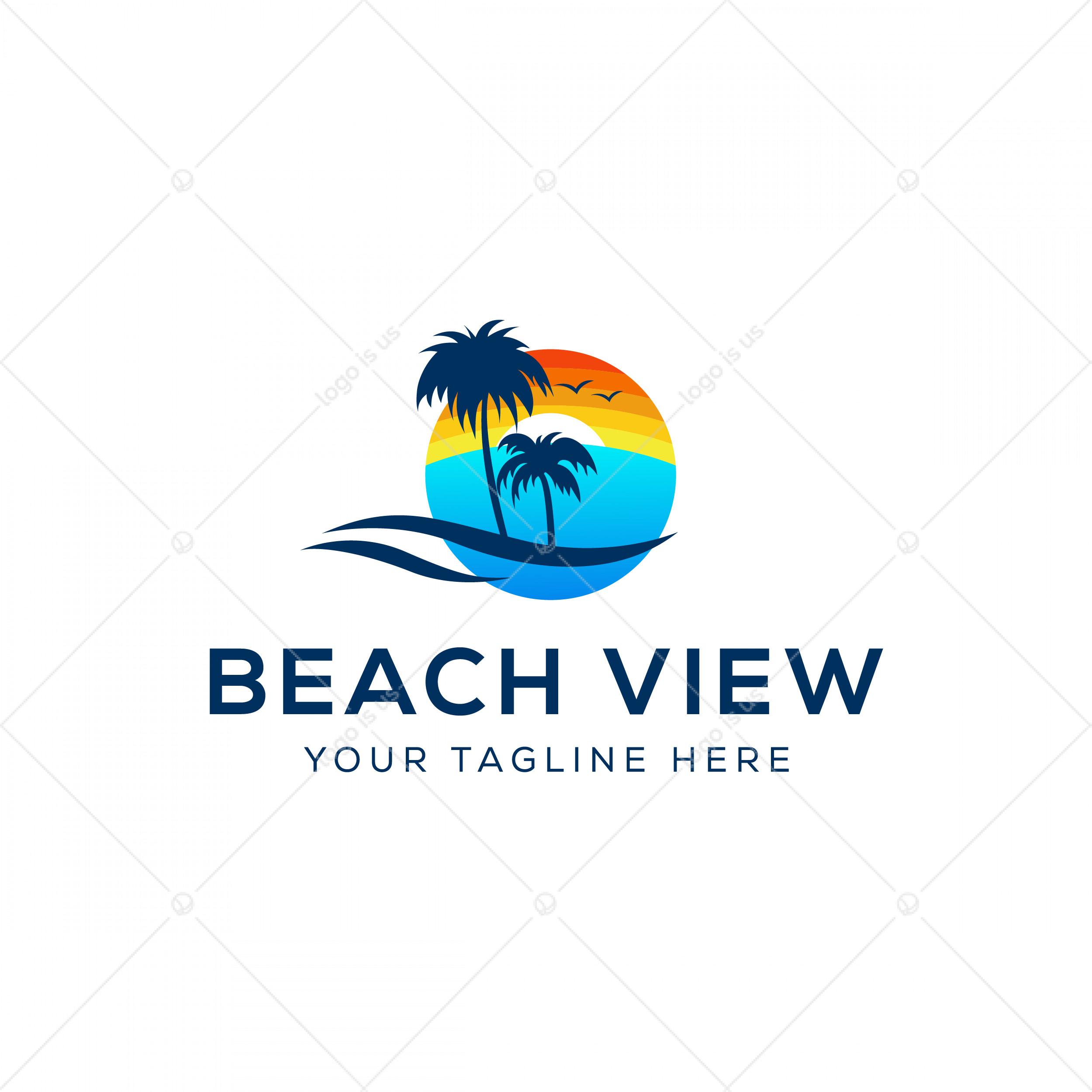 Beach View Logo