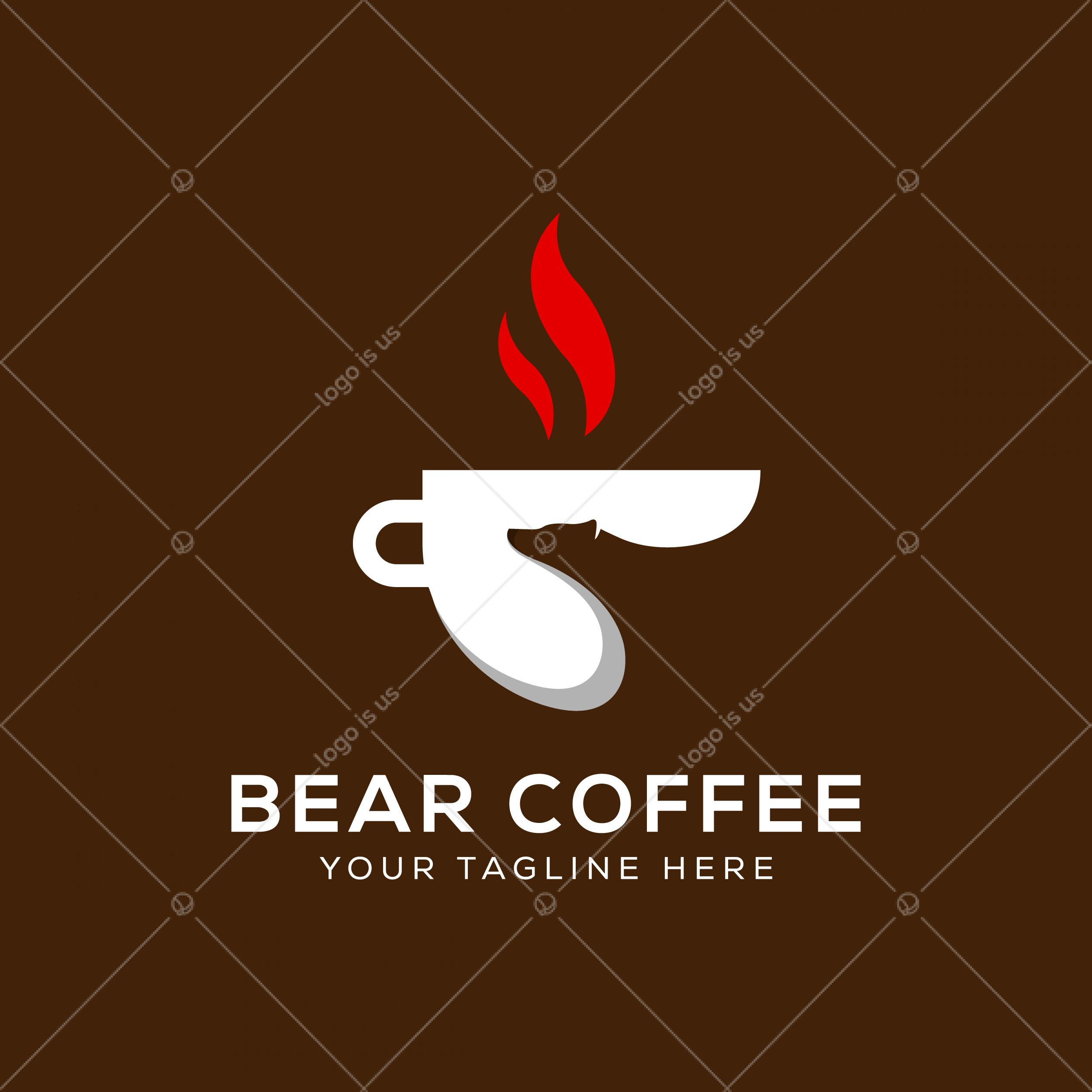 Bear Coffee Logo