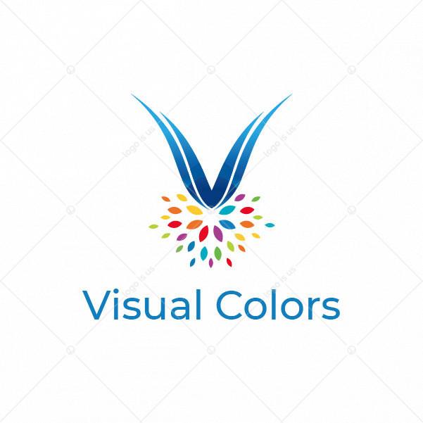 Colorful Medal Logo