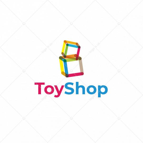 Cube Toy Shop Logo