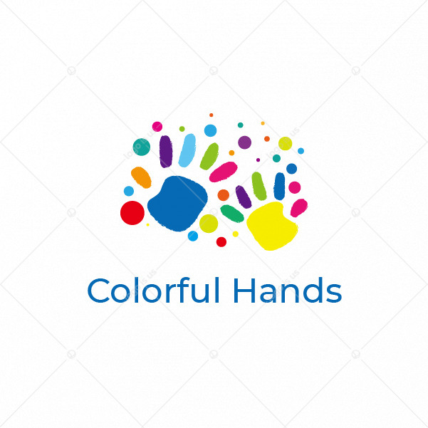 Colorful Hands Logo
