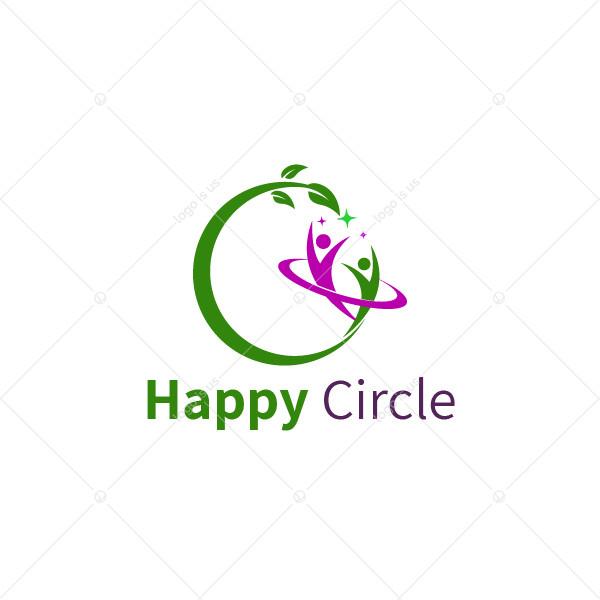 Happy Circle Logo